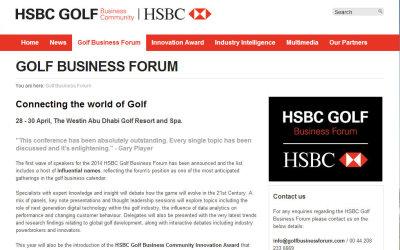 Golf Business News - Final Agenda Announced For 2014 HSBC