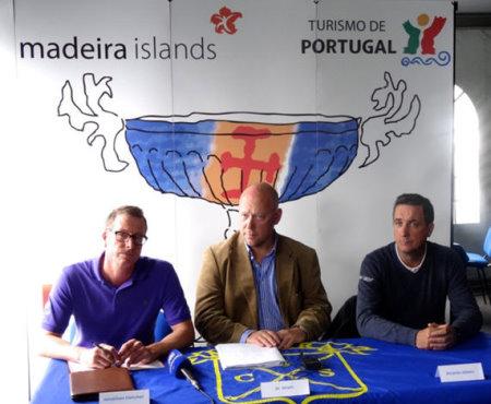 Jonathan Fletcher (L), Palheiro Estate – Jo Maes (M), GolfSwitch – OpenTee – Ricardo Abreu (R) Santo da Serra