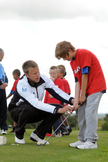 Pro coaching child Golf Foundation copy
