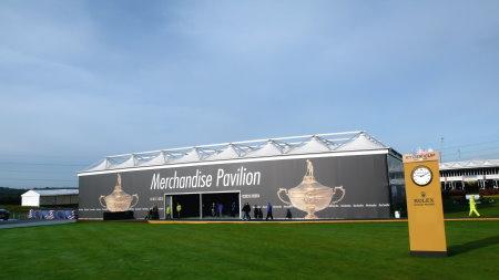 Ryder Cup Merchandise Pavilion