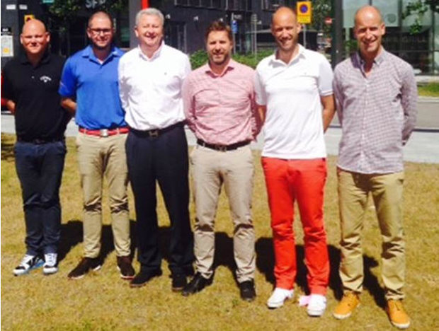 Callaway Swedish Sales Team