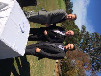 Patrick Young, David Geraghty &  Lindsay Verdon – Official Signing