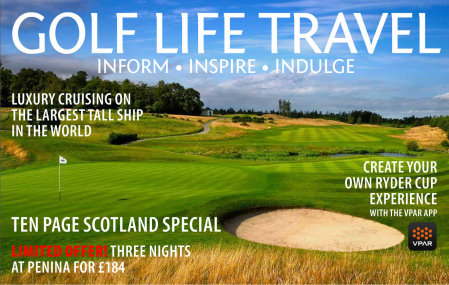 Golf Life Travel summer 14 cover
