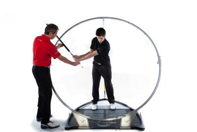 Guiding student through swing – Copy
