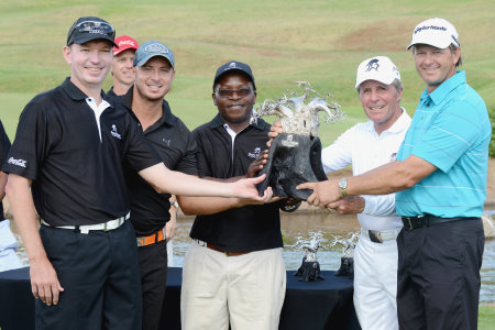 2013 Gary Player Invitational: Prize-giving
