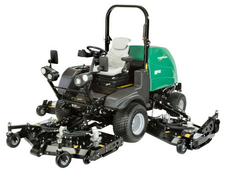 Ransomes MP three quarter cut out