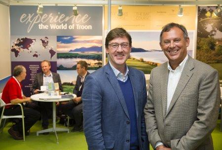 Ian Bulleid and Jonathan Smith at the International Golf Travel Market MR