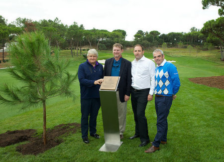 Quinta do Lago opening (from left) , Beau Welling
