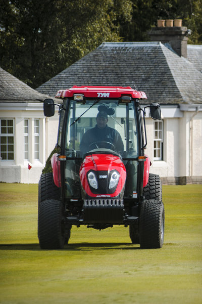 Toro provide specialist machinery for the 2014 Ryder Cup in Gleneagles.