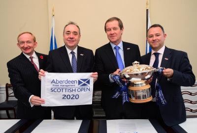 Scottish Open Announcement