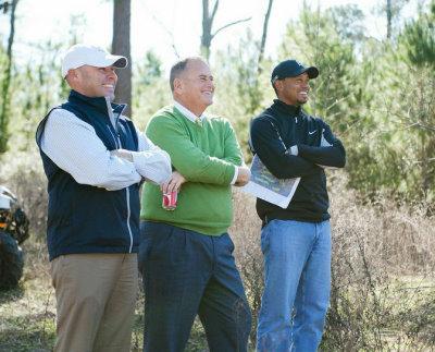 Tiger Woods site visit