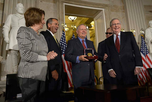Jack NIcklaus Congressional Medal (photo www.nicklaus.com)