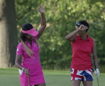 This girl golfs still
