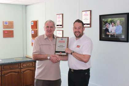 Otterbine Contractor of the Year