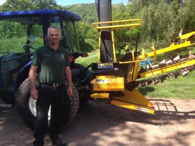 Steve Lloyd Head Greenkeeper at Worcestershire GC