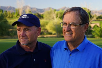 Brian Curley (l) and Lee Schmidt (r)