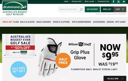 Drummond Golf website