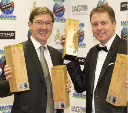 JS and PW IAGTO awards