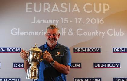 Darren Clarke Eurasia Captains