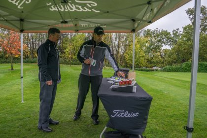 Titleist golf ball fitting on offer for the finalists