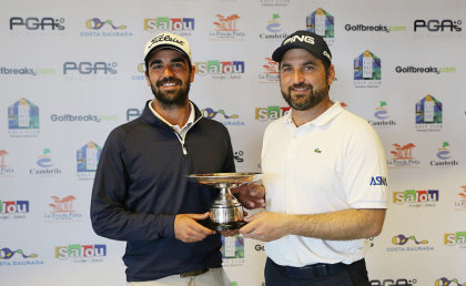 Golfbreaks PGA Fourball winners