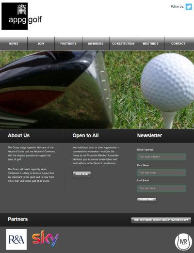 APPGG webpage