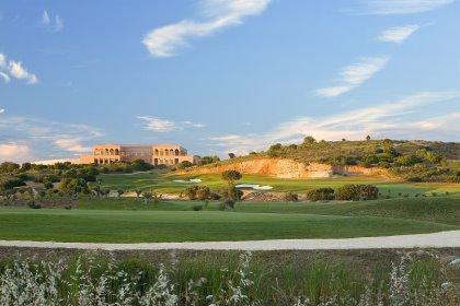 The Amendoeira Golf Resort clubhouse
