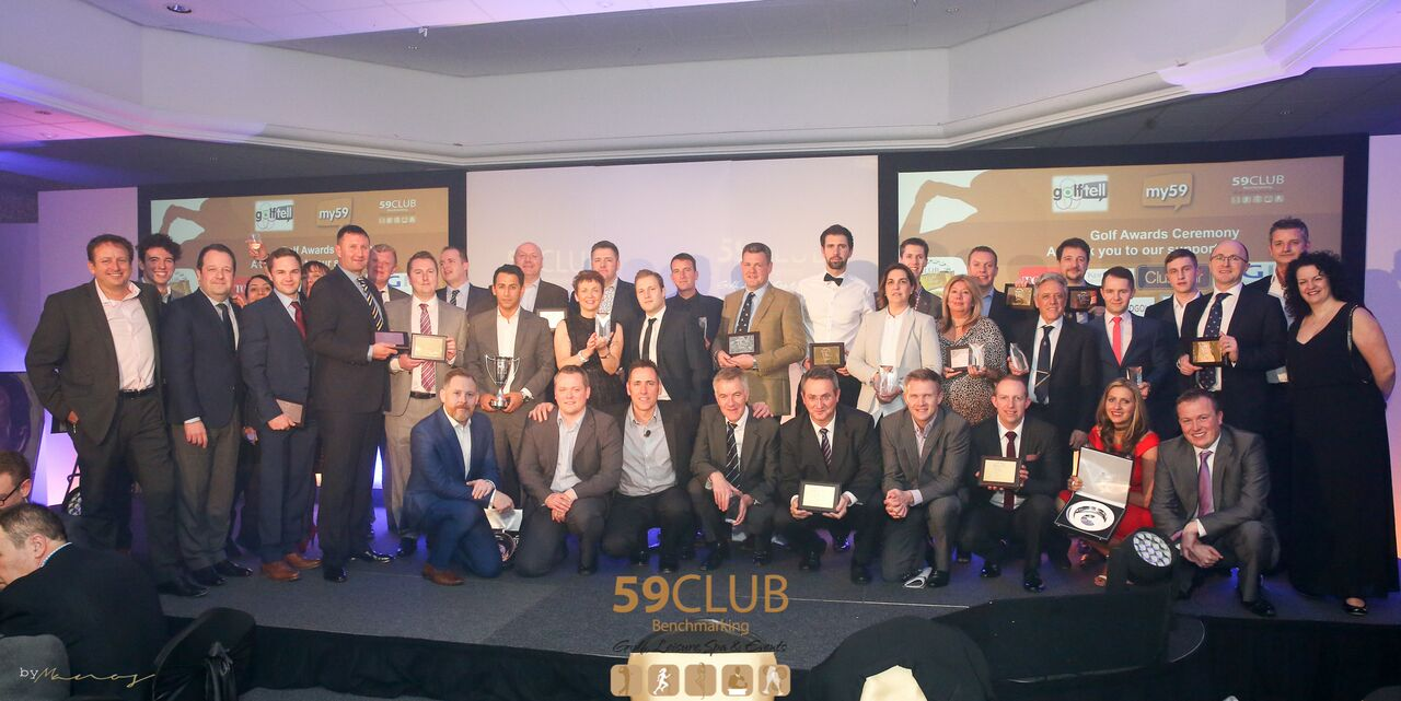 59club Excellence Award Winners – The Belfry 27th, Feb 2017