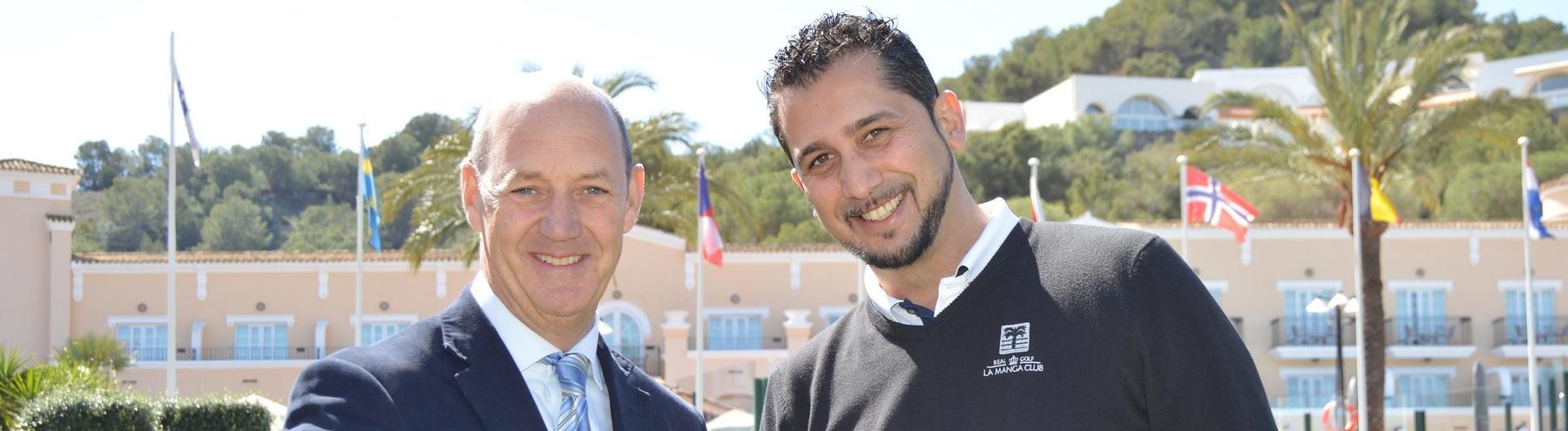 Nick Montgomery (left) and Eduardo Ruiz