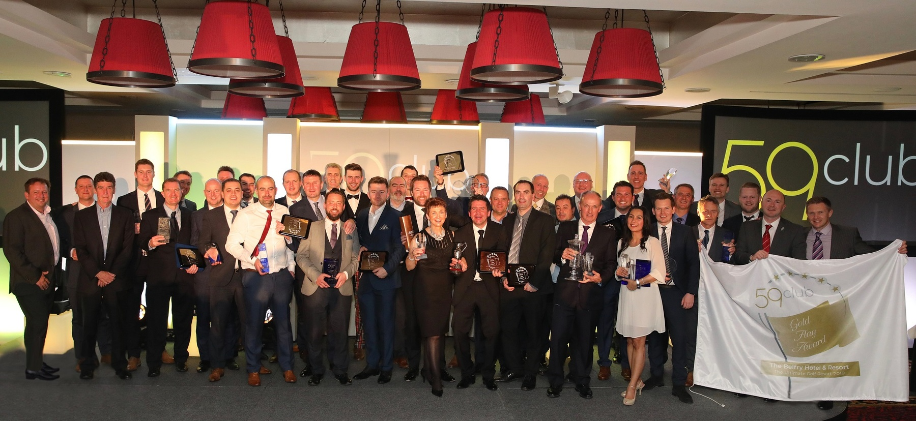 2018 59club Service Excellence Award Winners