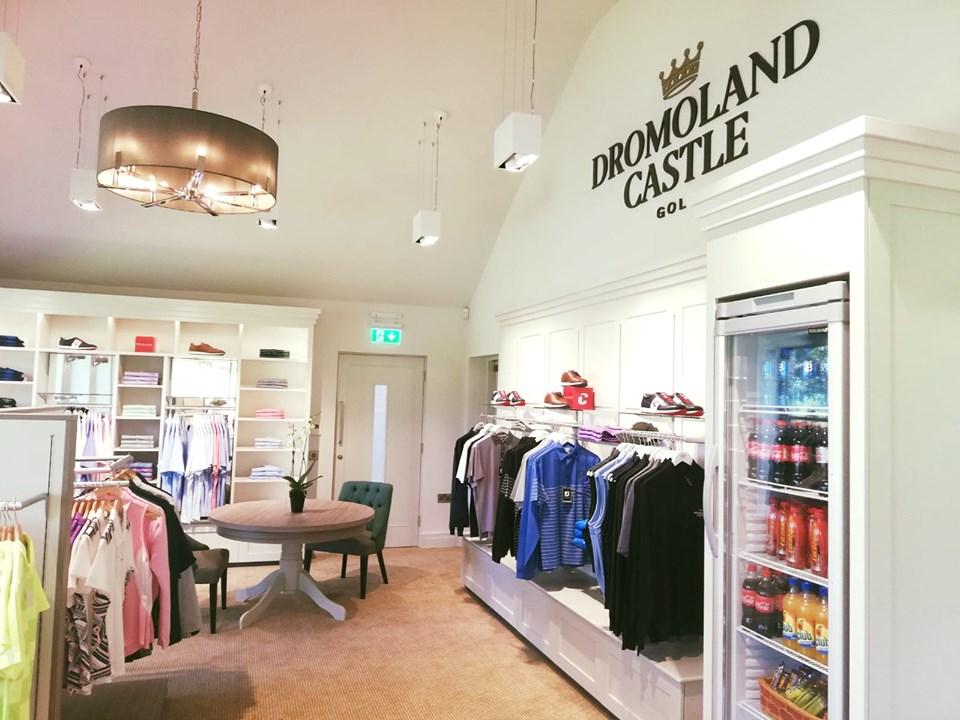 Ireland – The 5 Star Dromoland Castle has opened it new Resort Golf Shop 1