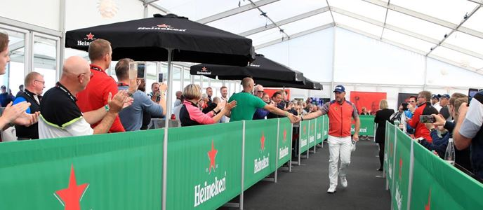 Heineken walkthrough at Made in DenmarkCapture