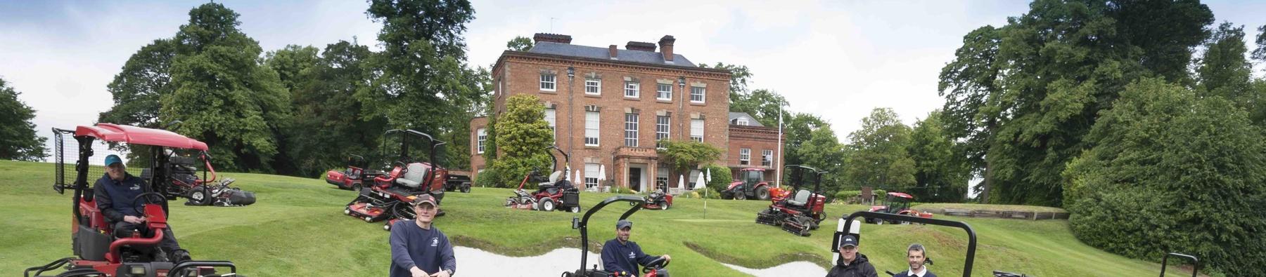 Toro cropEdgbaston Golf Club