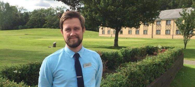 Director of golf Alex Davies