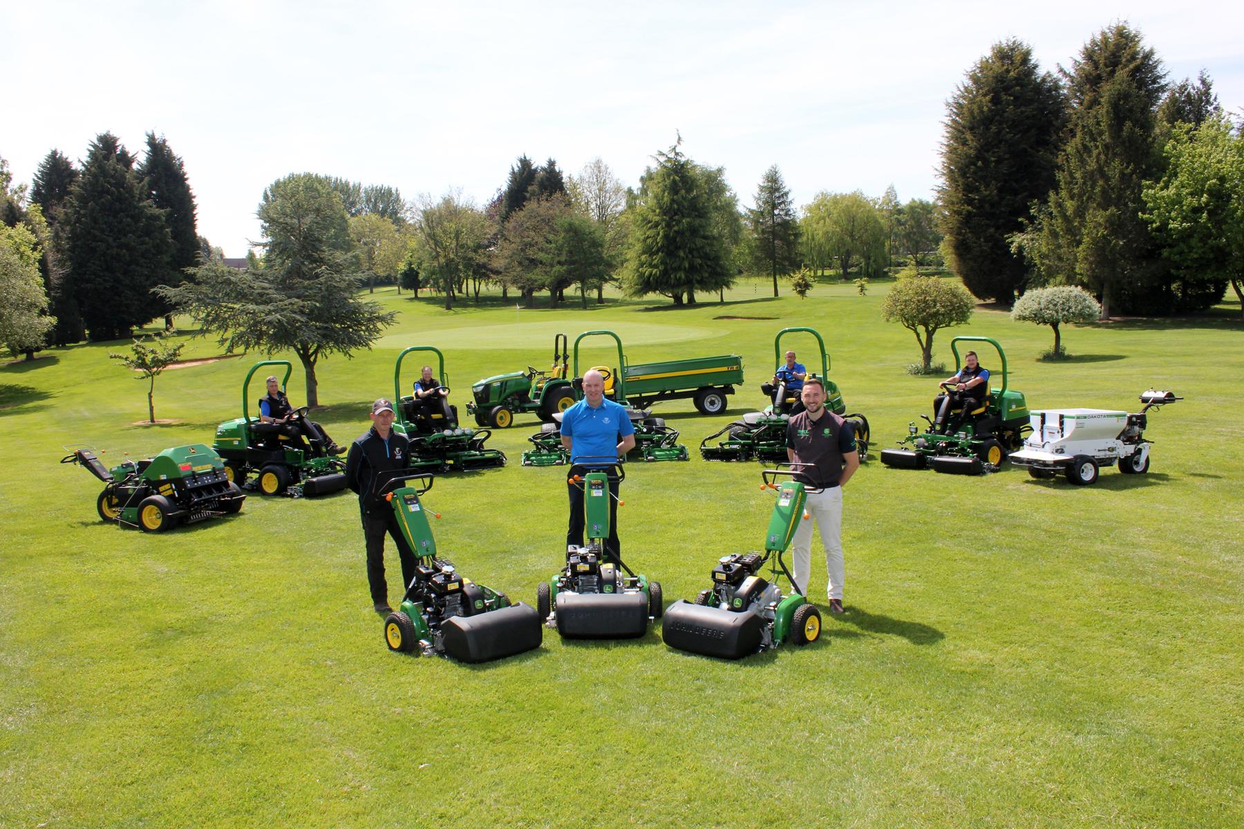 Hinckley Golf Club_John Deere A
