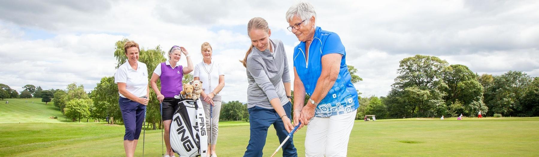 Macdonald Hotels headerGet Into Golf – Emma Goodard and players