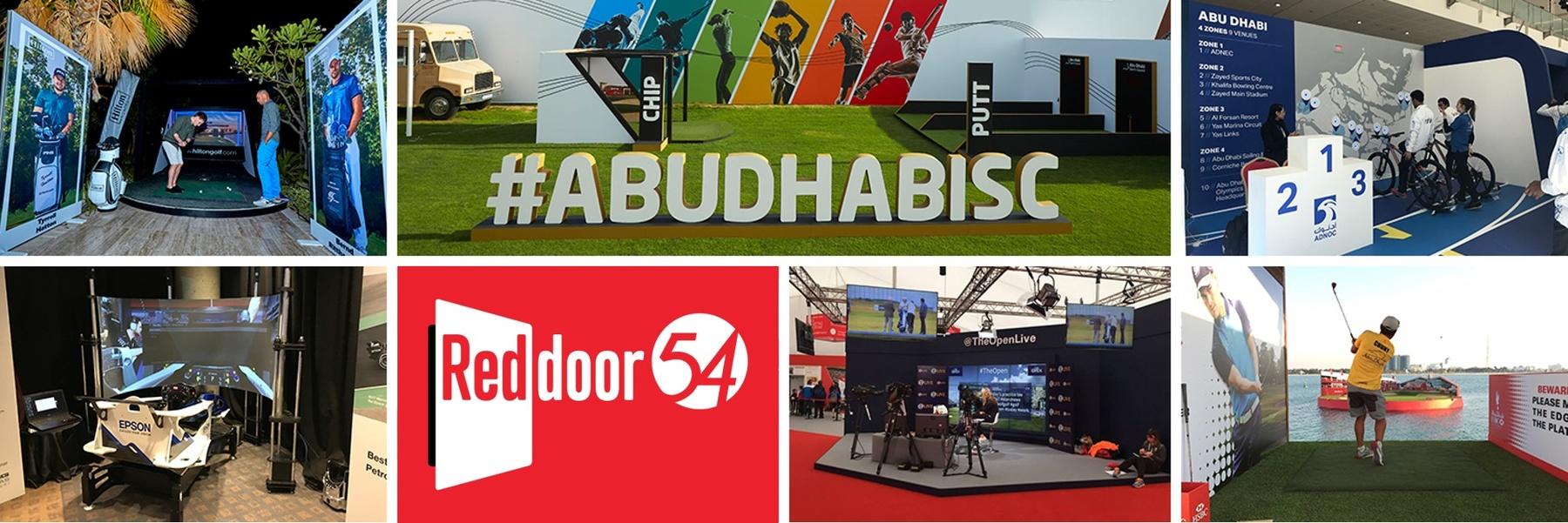 Performance54 header & Red Door Events Middle East Unite to form RedDoor54