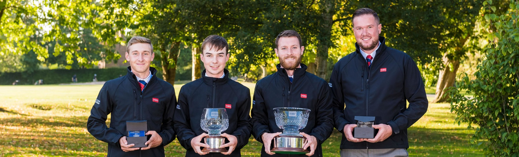 The prize winners and runners-up from 2018 cropwere Liam Pigden, Danny Patten, Daniel Ashelby and John Scurfield