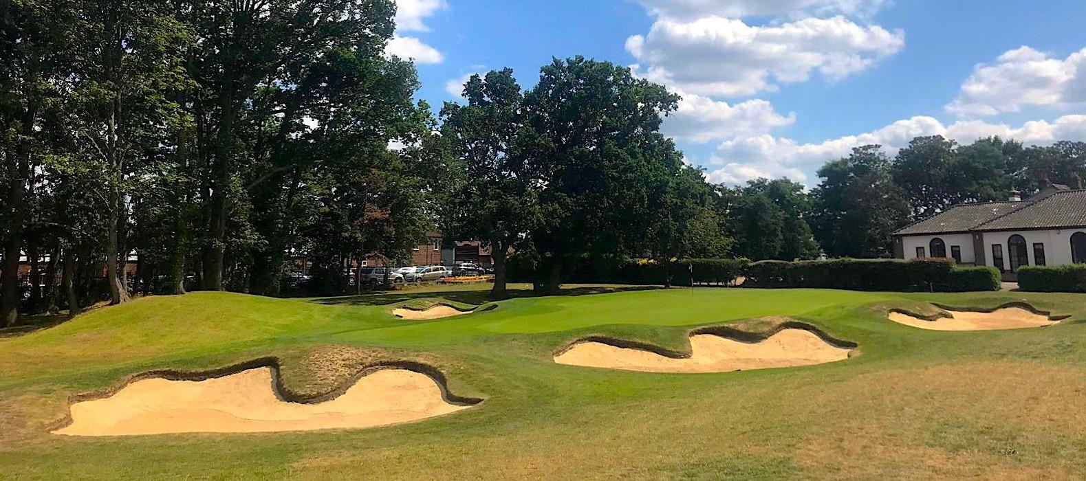 Fulwell Golf Club par-3 9th hole