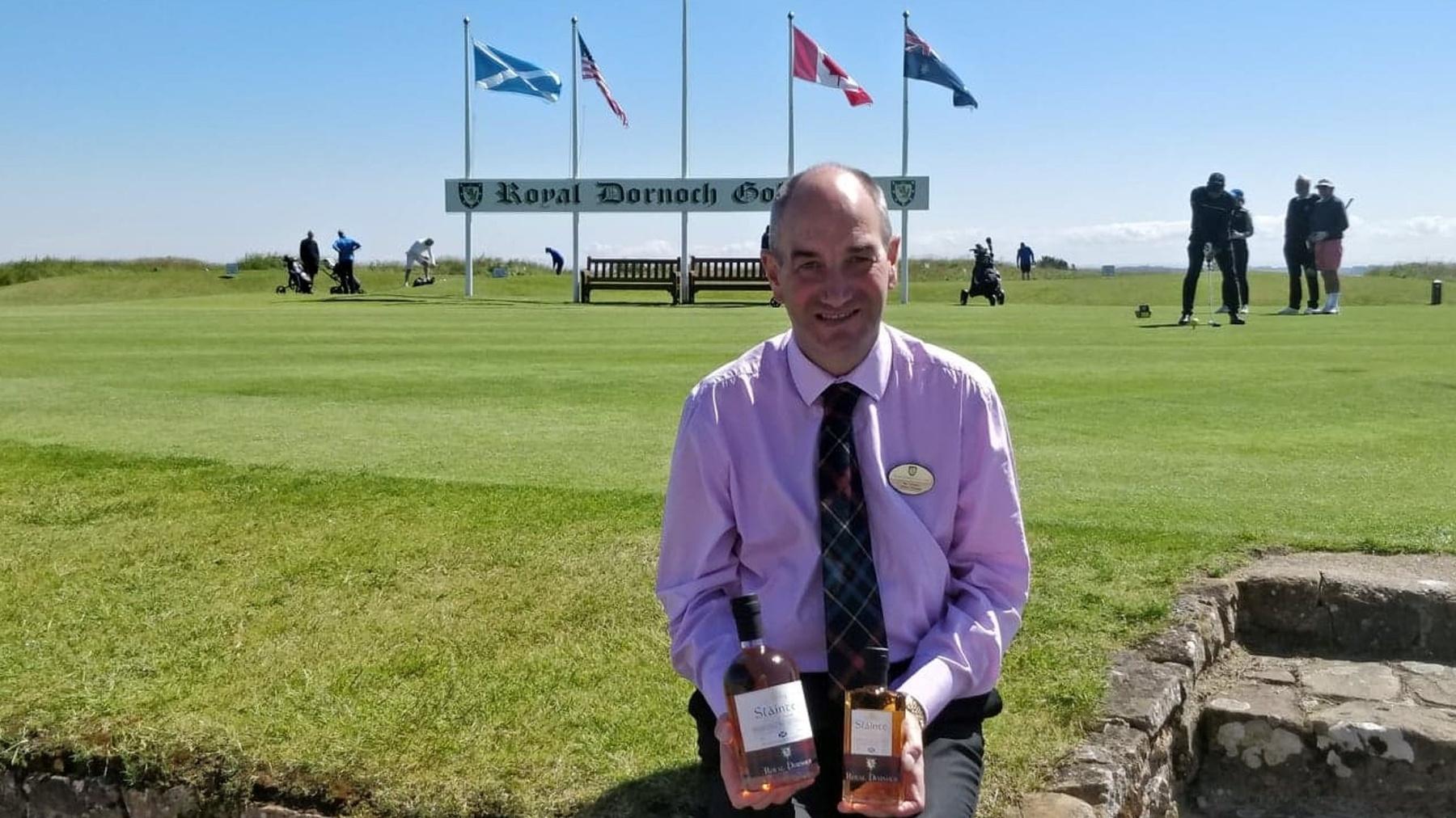 Neil Hampton and new whisky
