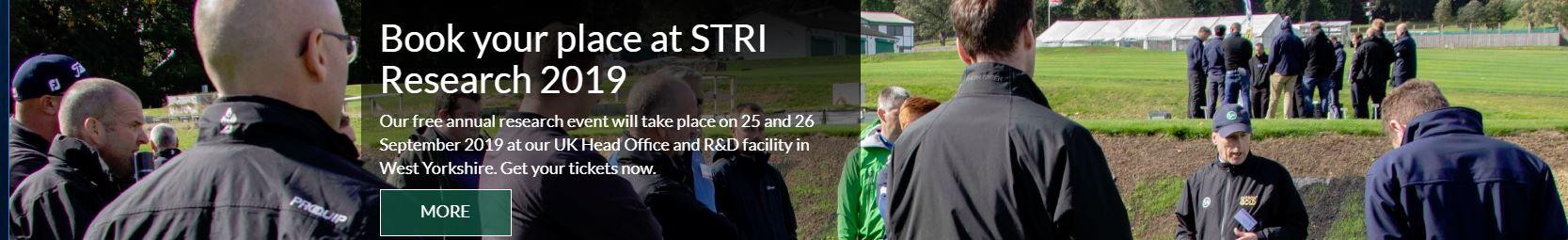 STRI Research 2019 header
