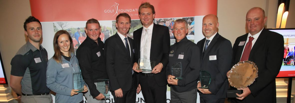 Rob Maxfield and GF Presidents Awards winnersCapture