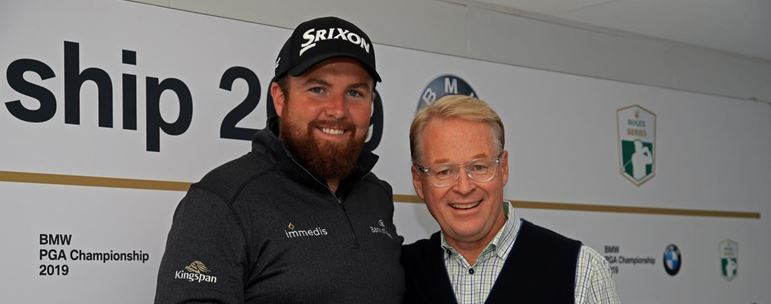 Shane Lowry and Keith PelleyCapture