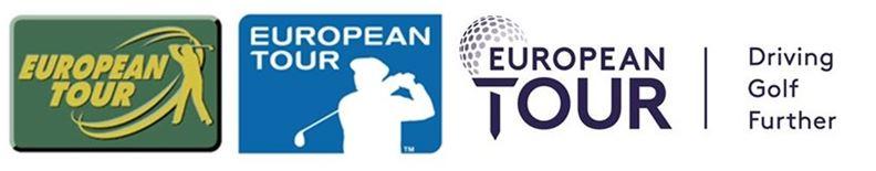 European Tour logos collection banner