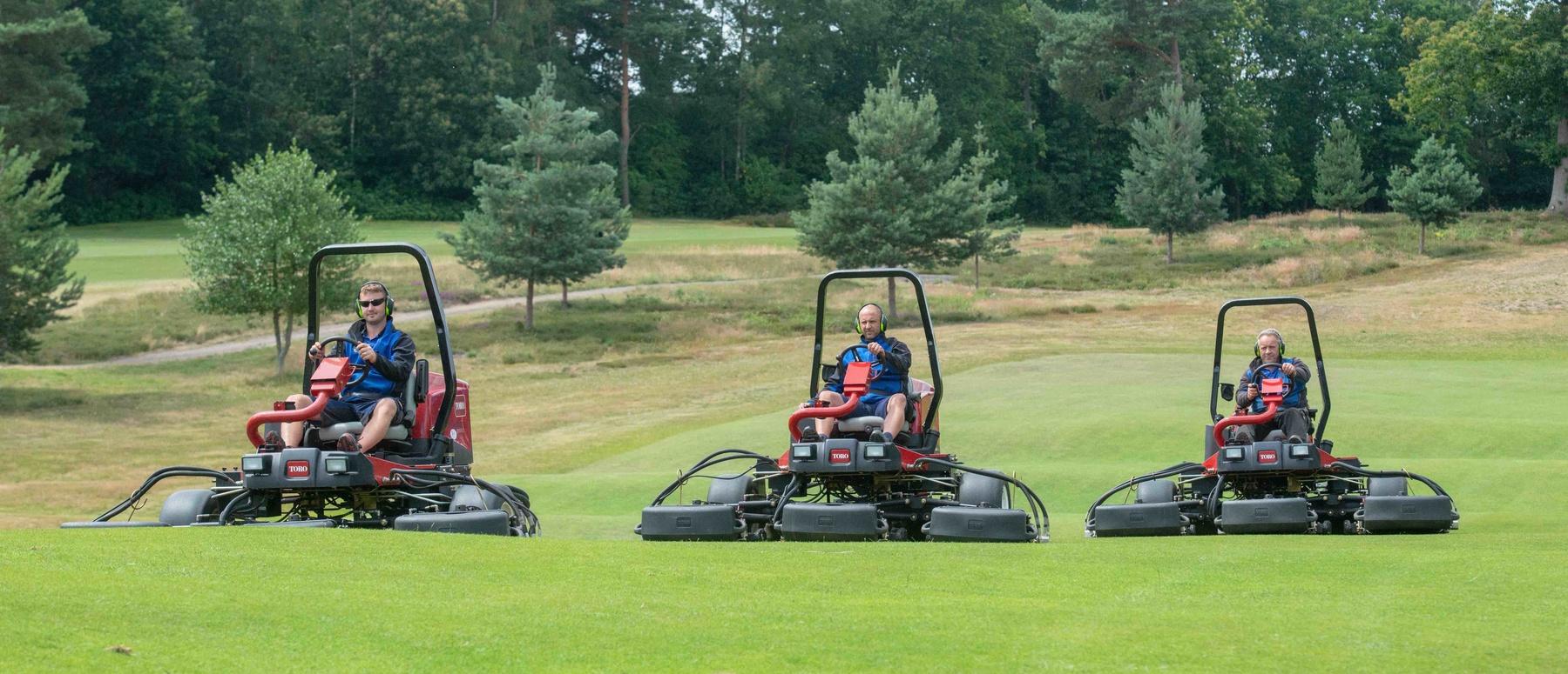 Appliances at St George's Hill Golf Club, Weybridge, Surrey, 11th July 2019