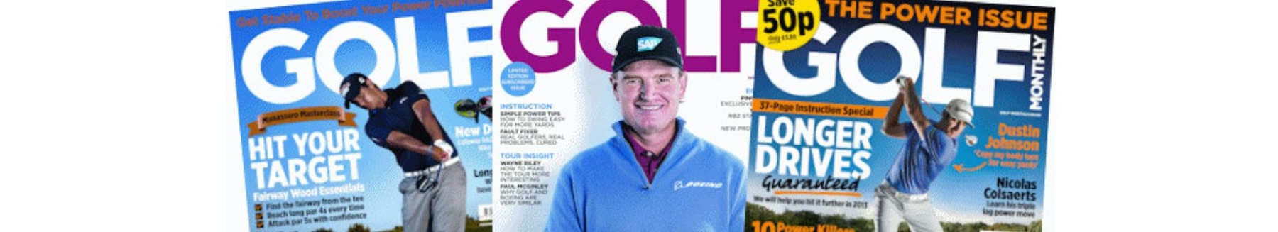 Golf Monthly title pages
