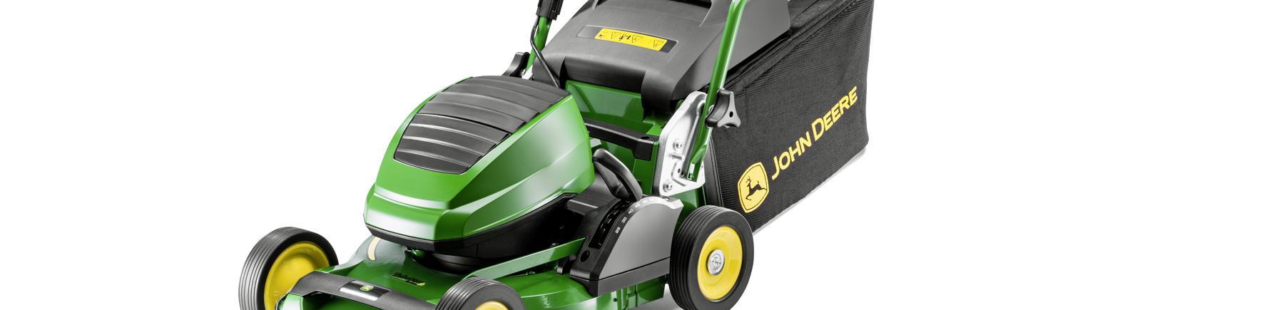 New John Deere PROcrop 43B header commercial battery mower