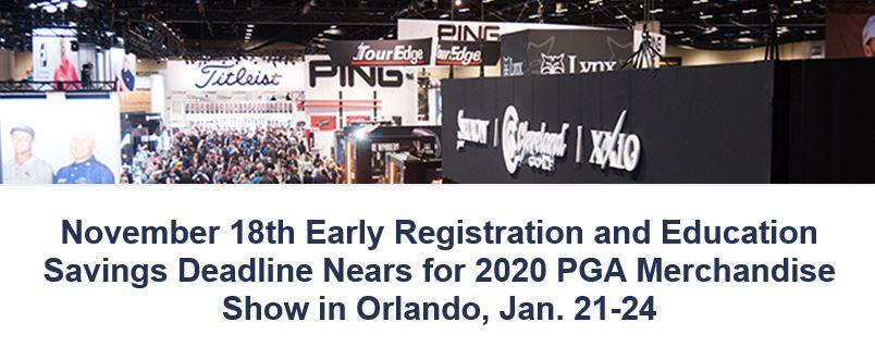 PGA Merchandise Show header