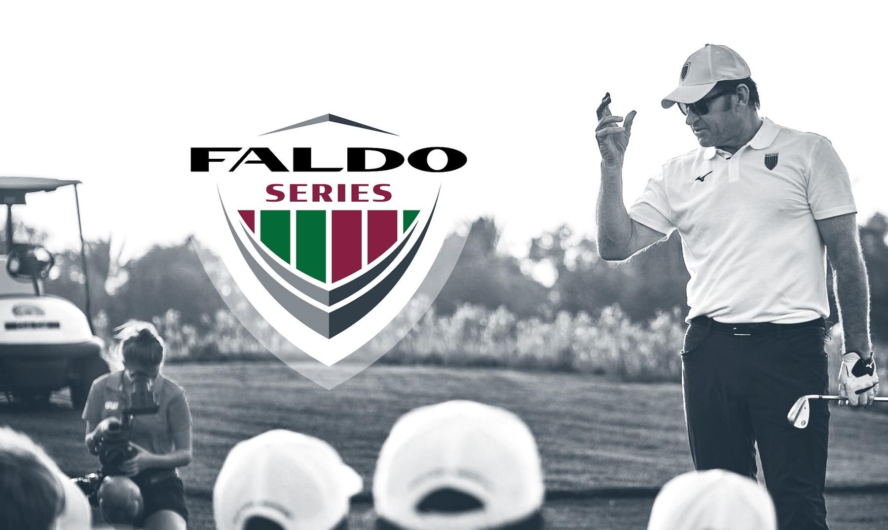 Sir Nick Faldo's global junior golf tournament receives a new logo and modernised branding