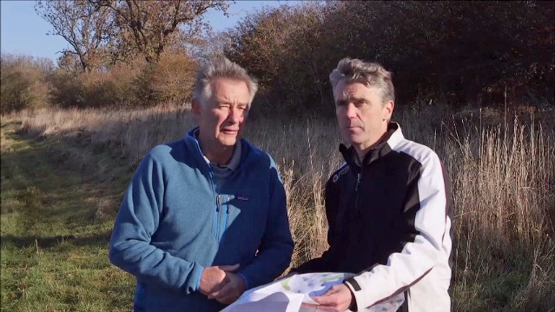 HOUGHTON Ken Brown & Ken Moode on site 3